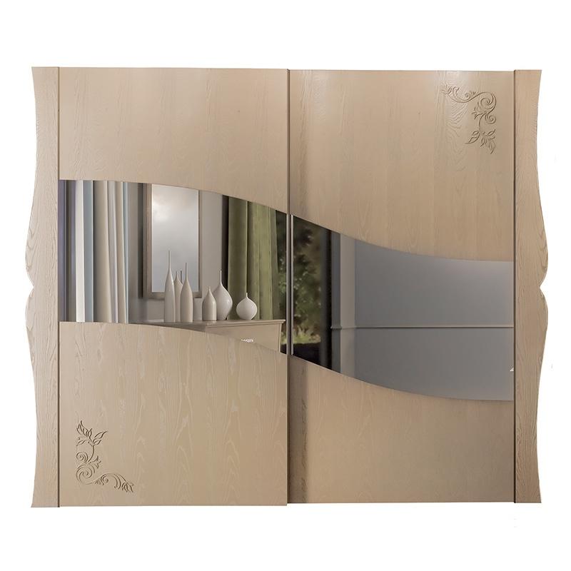 Mirrored sliding wardrobe Dolci Sogni
