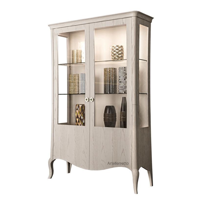 2 door display cabinet Legno Originale