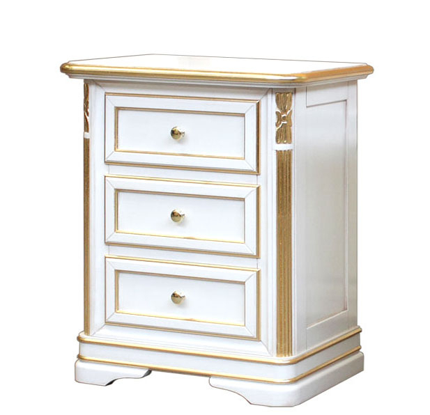 Charming nightstand in wood