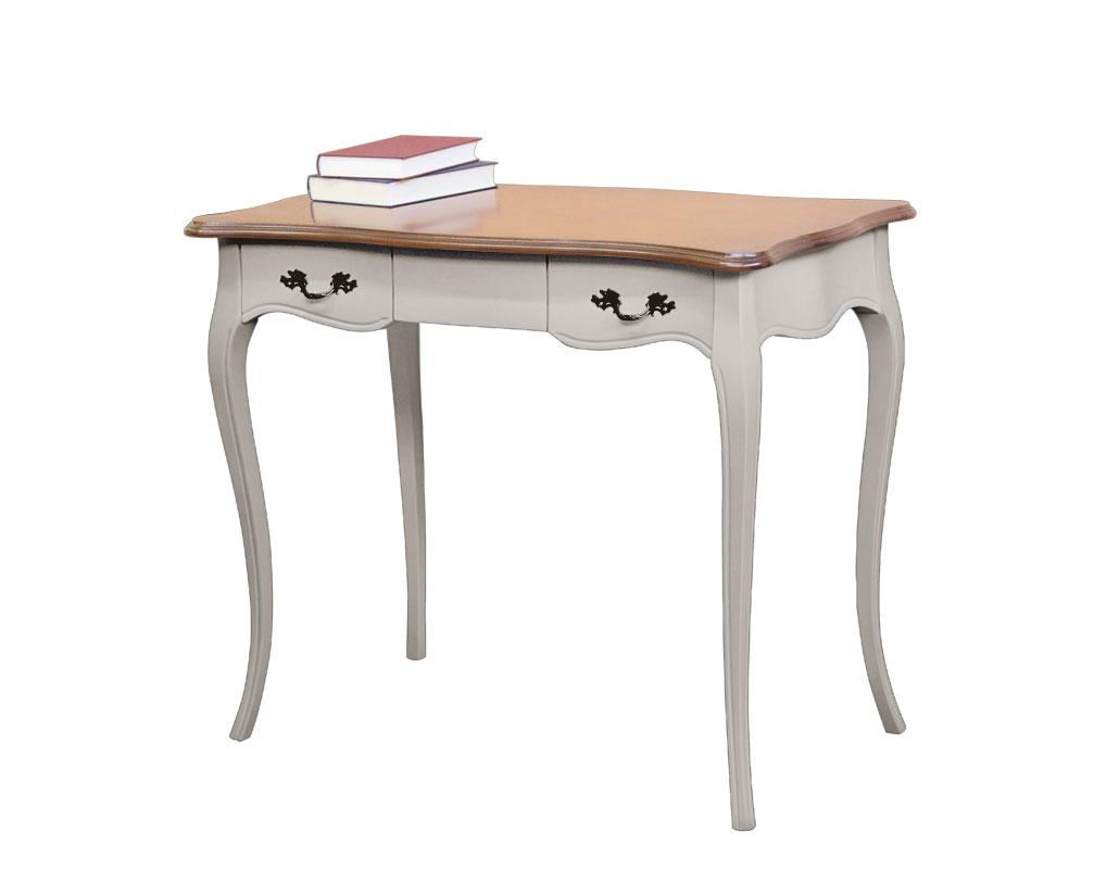 Two tone office desk in wood