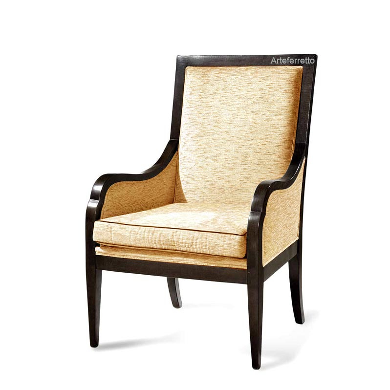 Reading armchair for living room 'America'