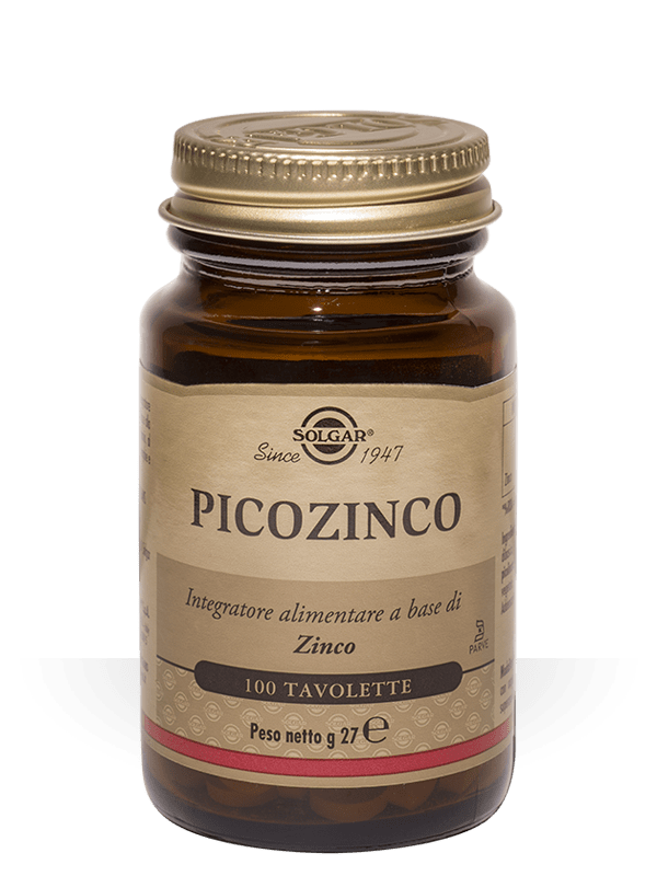Solgar Picozinco 100 tavolette