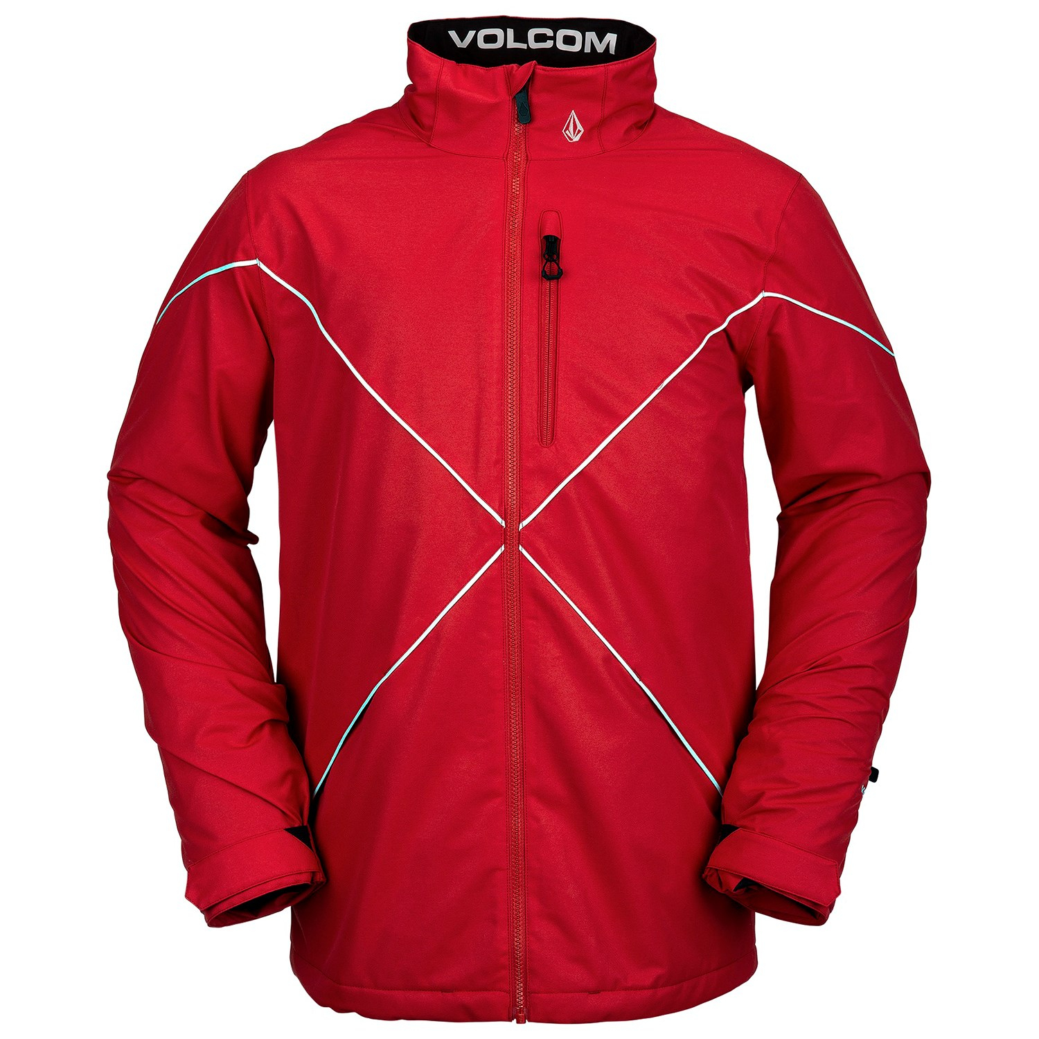 Giacca Snowboard Volcom No Hood X Jacket Red '21