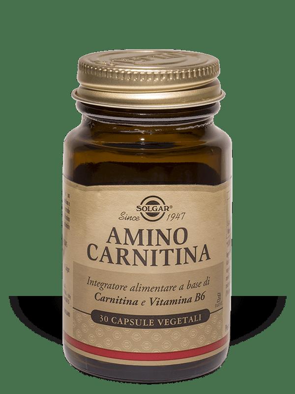 Solgar Amino Carnitina 30 capsule vegetali