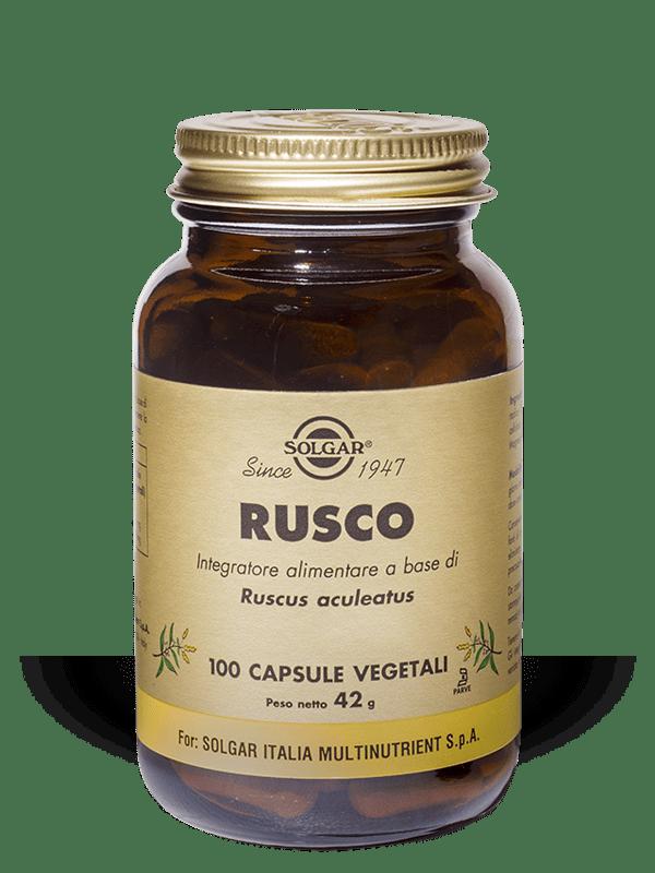 Solgar Rusco 100 capsule vegetali