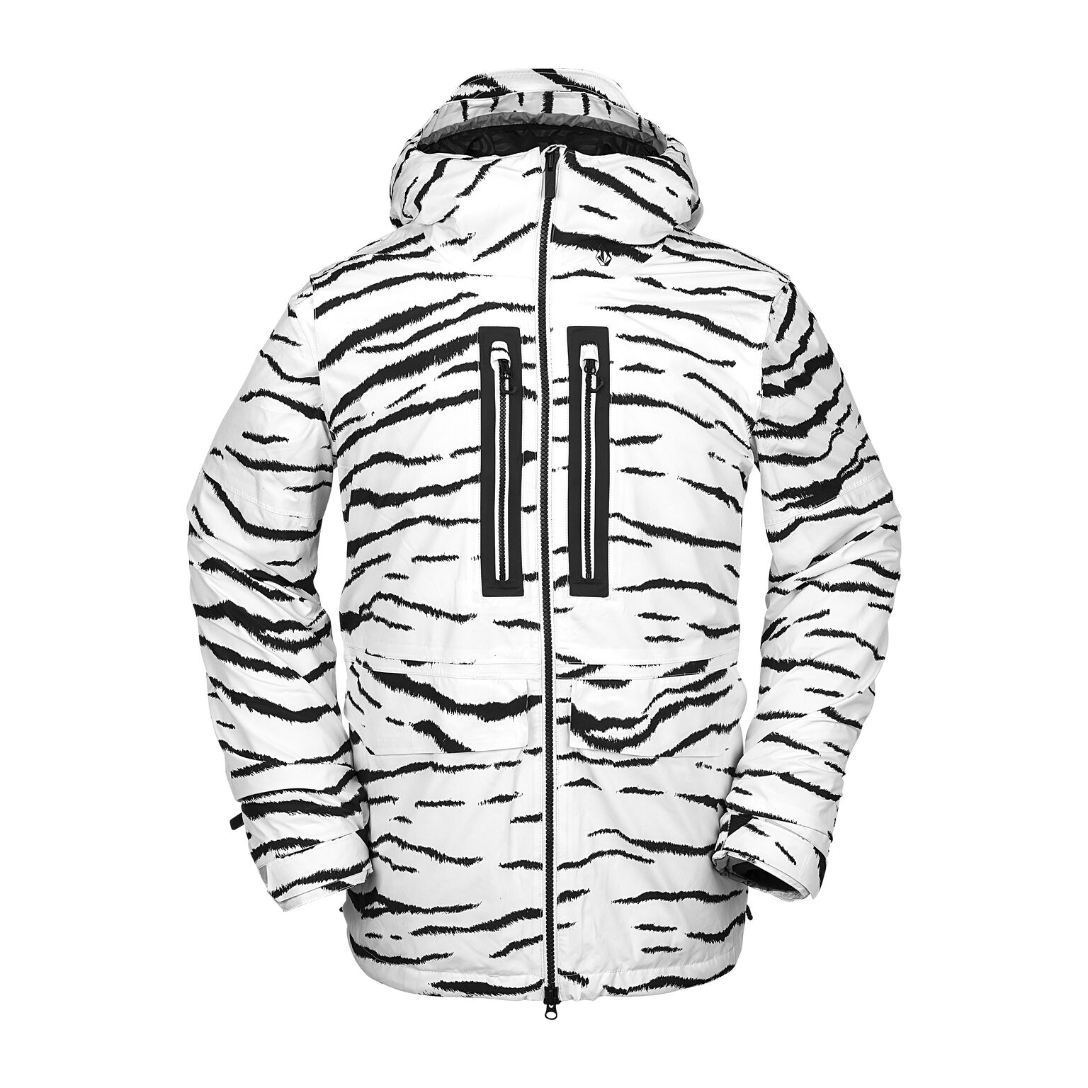 Giacca Snowboard Volcom Goretex White Tiger '21