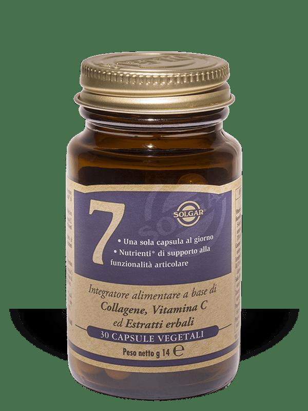 Solgar 7-30 capsule vegetali