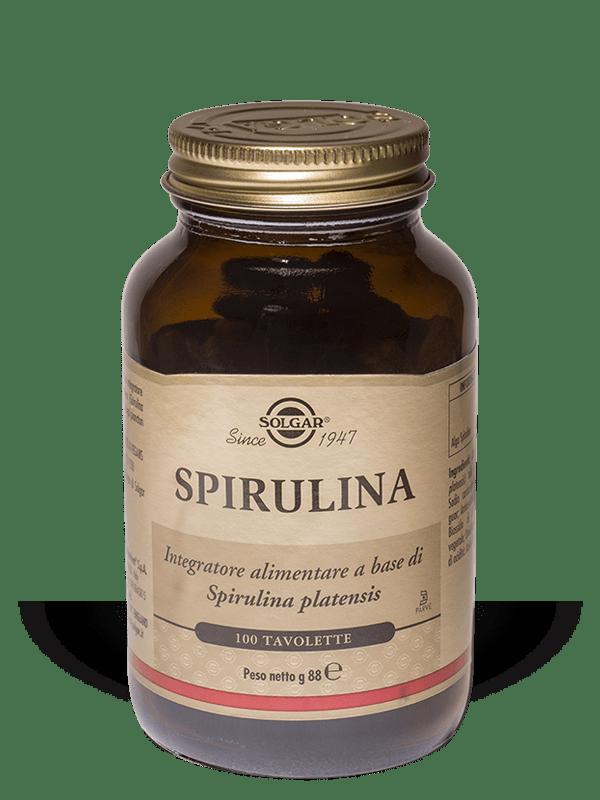 Solgar Spirulina 100 tavolette