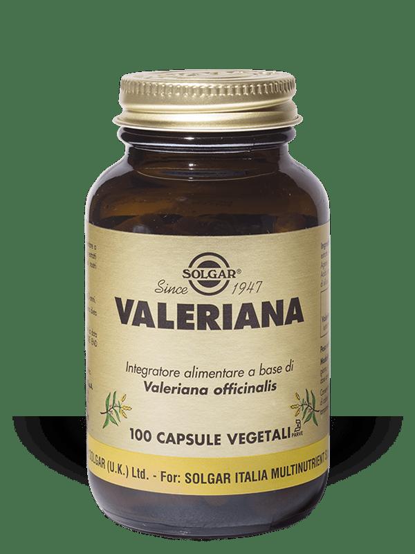 Solgar Valeriana 100 capsule vegetali
