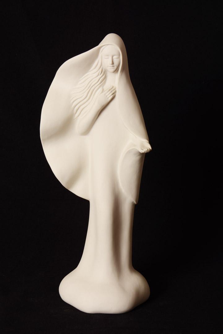 Madonna di Medjugorje in porcellana