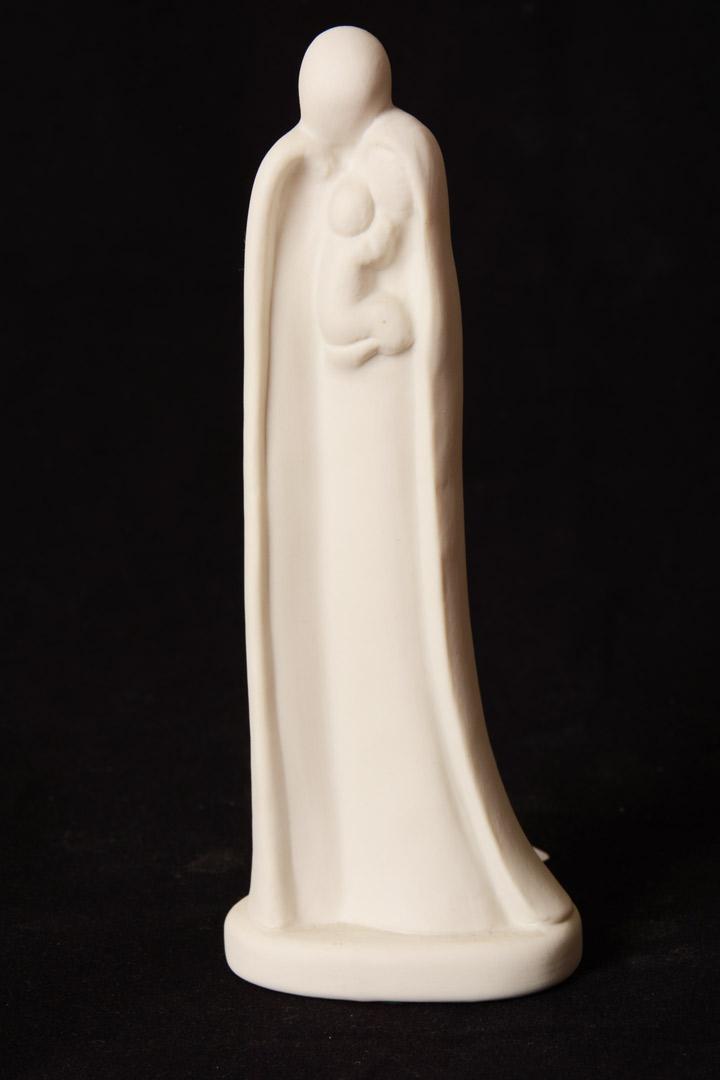 Sacra Famiglia in porcellana cm 16