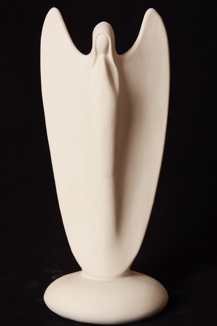 Angelo in porcellana cm 22