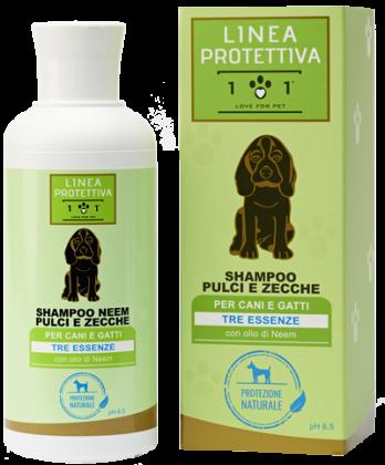 Shampoo pulci e zecche