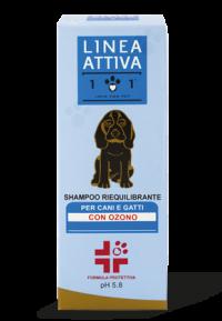 Shampoo riequilibrante con ozono