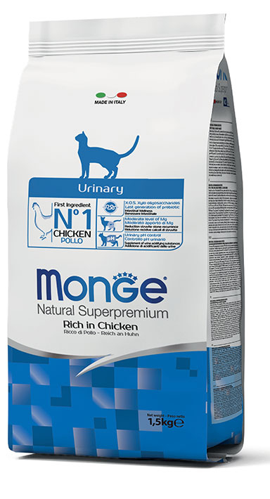 MONGE NATURAL SUPERPREMIUM GATTO URINARY POLLO