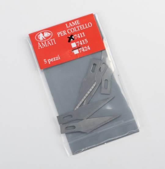 Knife blades n° 11 5pz