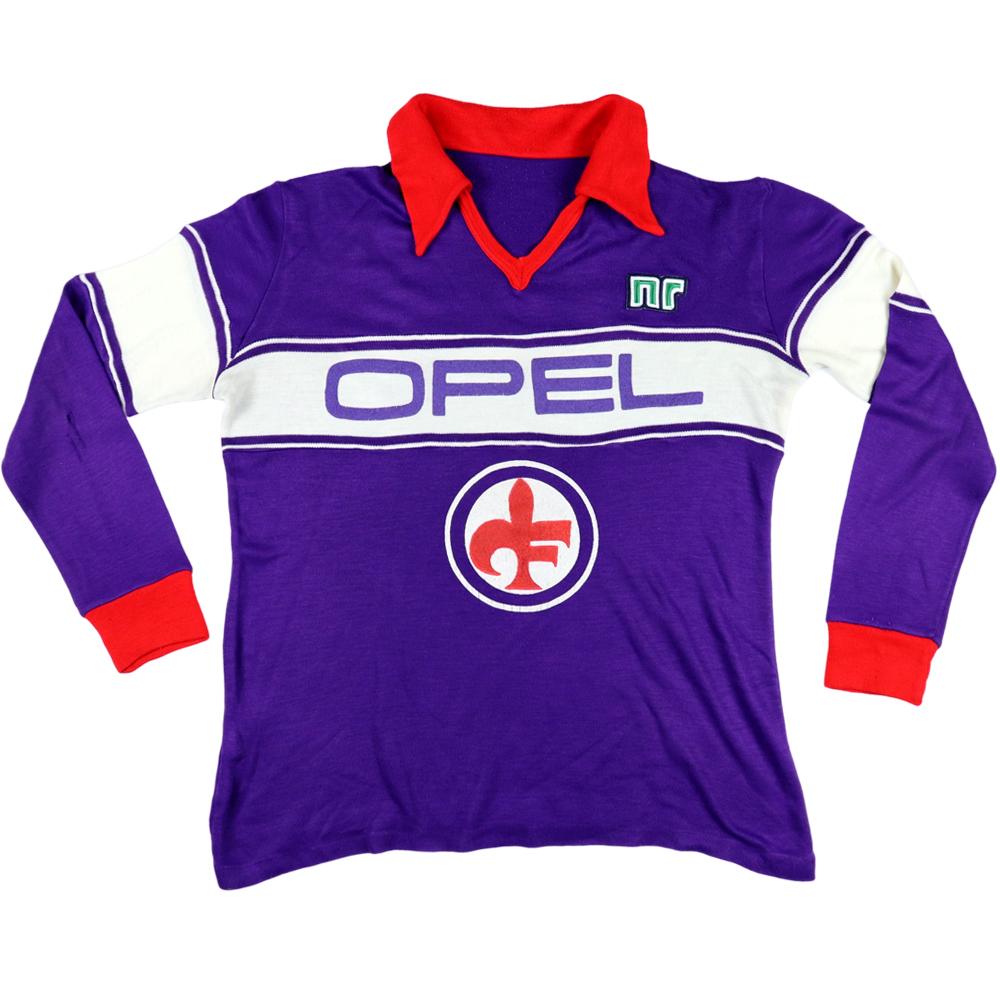 1984-85 Fiorentina Maglia Home #10 Antognoni S
