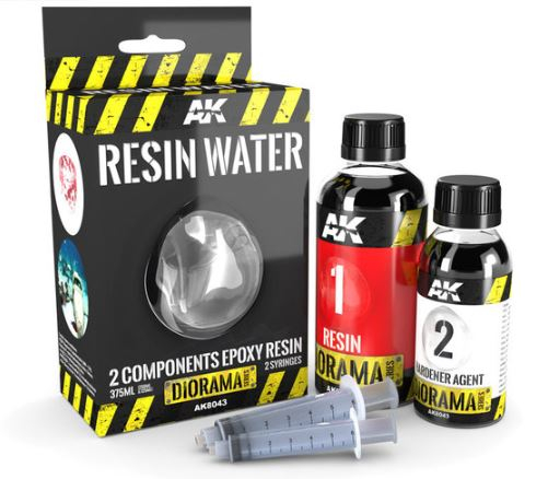 Resin Water 2 components Epoxy Resin