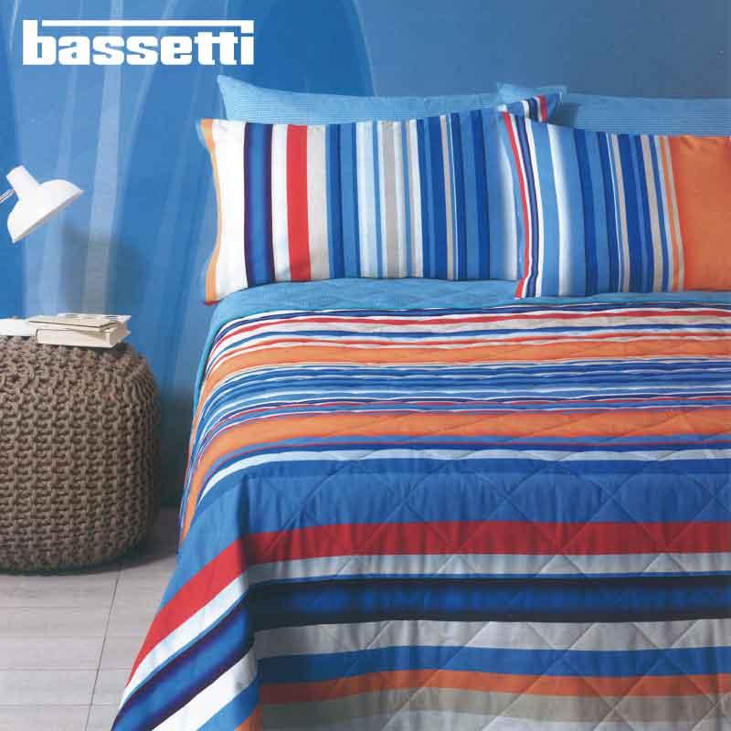 Copriletto Trapuntato Bassetti Coachella Singolo 100 Cotone Letto Bianca Shop