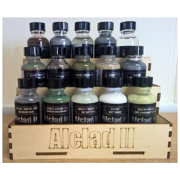 Alclad Wood Paint Rack