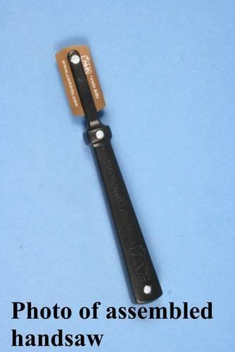 Manico porta lame  seghettate da taglio di precisione  per resina  , plastica  e  parti in  Vacu-form ( tettucci )