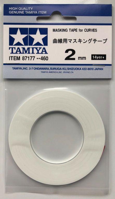 Masking Tape for Curves 2mm