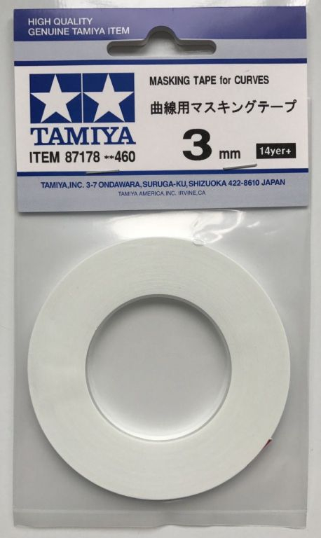 Masking Tape for Curves 3mm