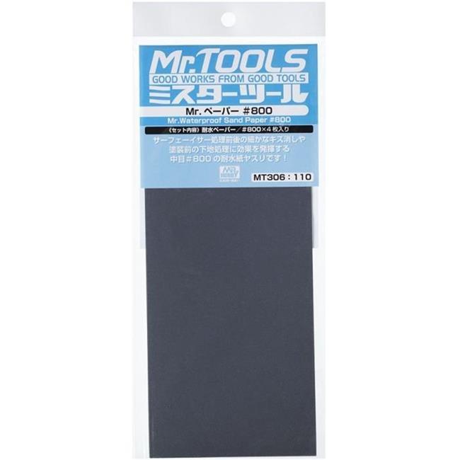Mr. Waterproof Sand Paper #800 (4pcs)
