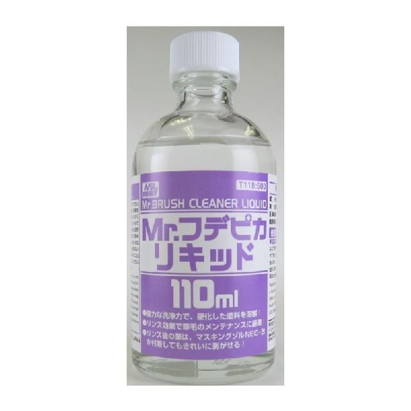 MR.BRUSH CLEANER LIQUID -  Liquido per  la  pulizia dell' aeropenna  e dei pennelli