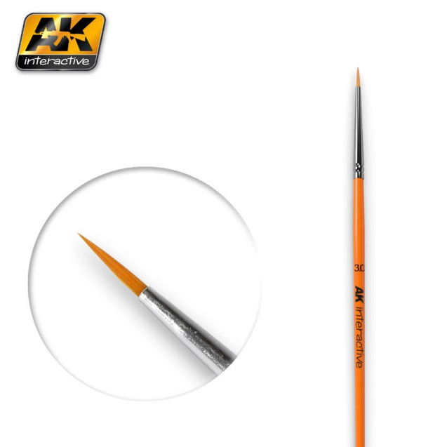 Round Brushes 3/0 Synthetic