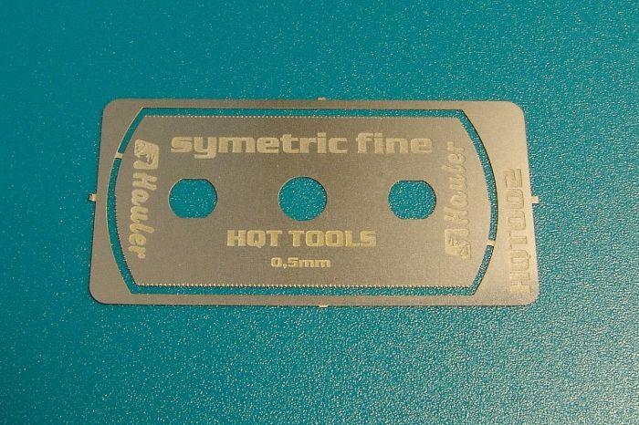 stainless razor saw symetric fine