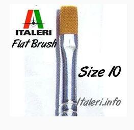 Synthetic Flat brush 10