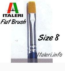 Synthetic Flat brush 8