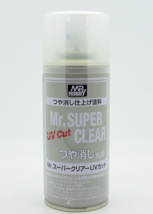 Mr Super Clear Varnish UV Cut Flat 170ml