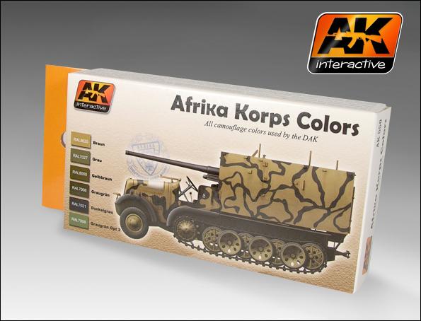 Afrika Korps colors Set