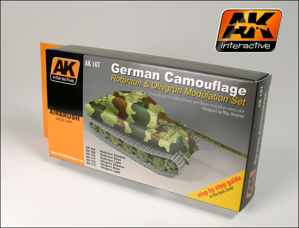 German Green And Brown Modulation Set
