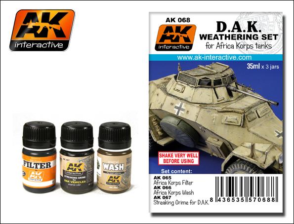 Africa Korps Weathering Set