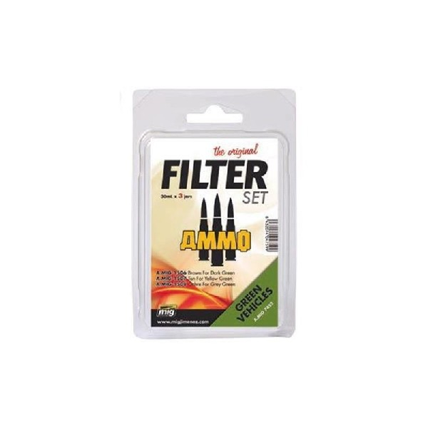 FILTER SET FOR GREEN VEHICLES