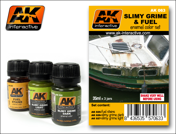 SLIMY GRIME AND FUEL SET