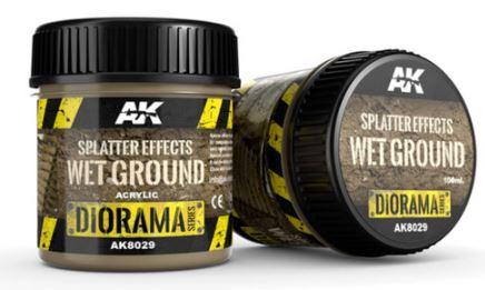 Splatter Effects Wet Ground