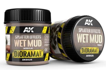 Splatter Effects Wet Mud
