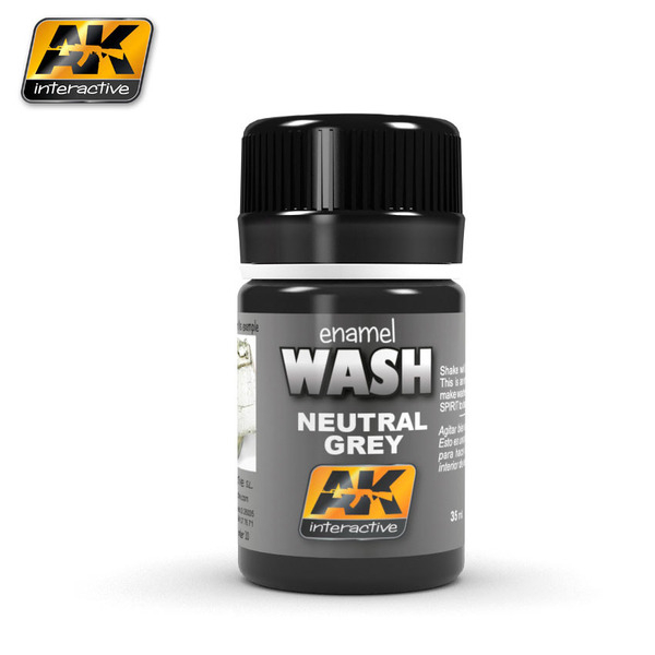 Wash Neutral Dark Grey