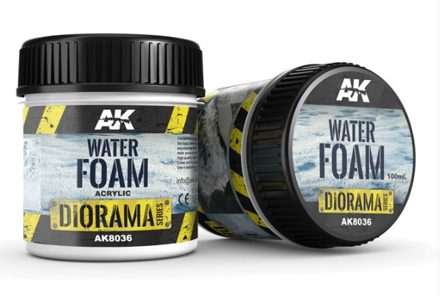 Water Foam Diorama Series Acrylic
