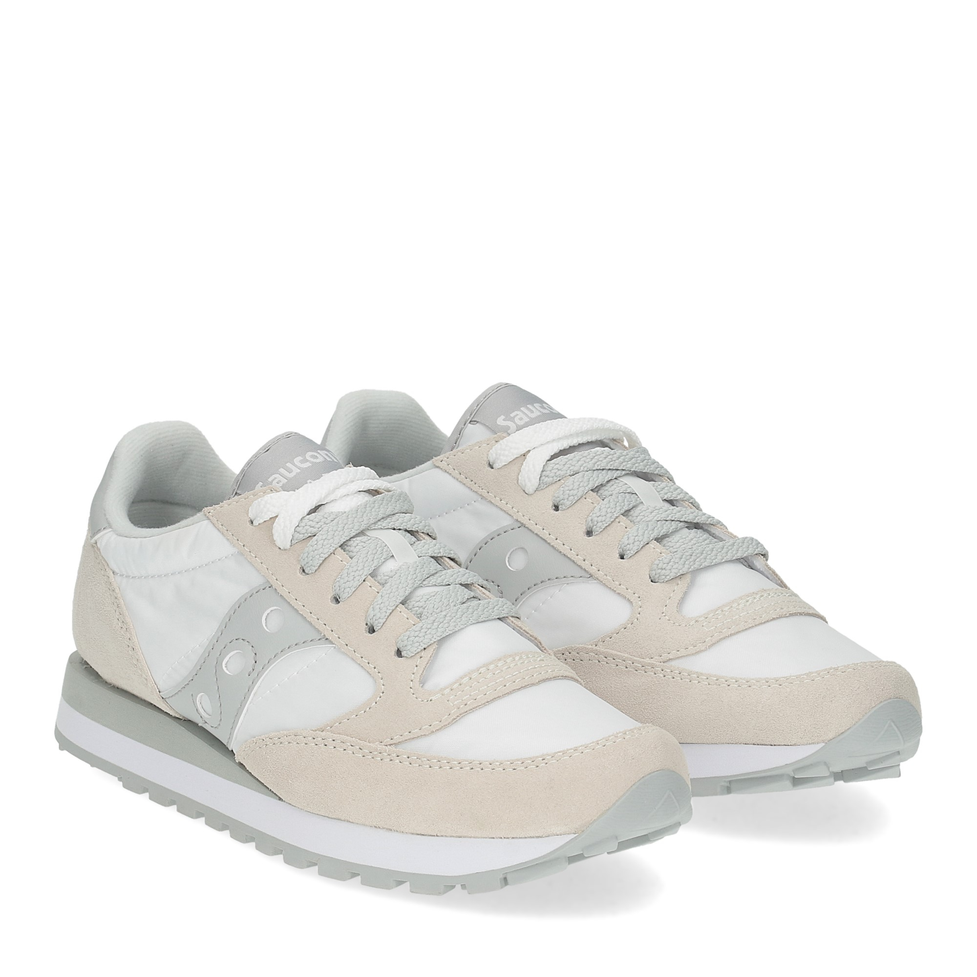 Saucony Jazz Original low white grey