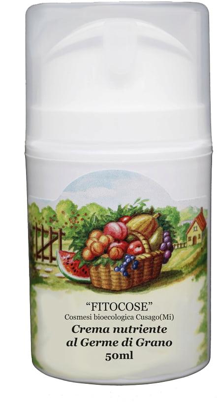 Crema nutriente ecobio al germe di grano | Prodotti naturali per il viso vegan