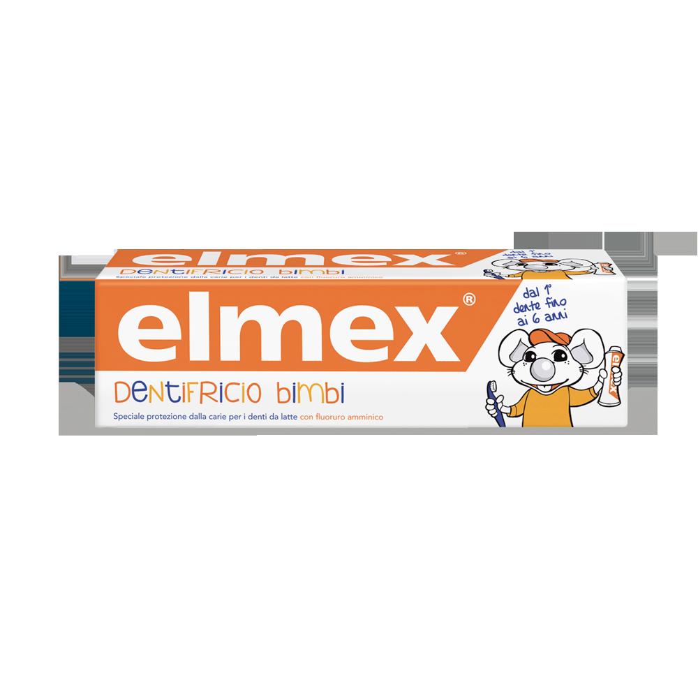 Dentifricio Elmex® Bimbi 0-6 Anni-contiene fluoruro amminico