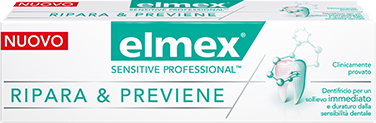 Dentifricio Elmex® Sensitive Professional™ Ripara & Previene