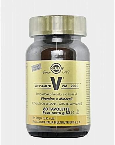 Solgar VM2000 60 Tavolette