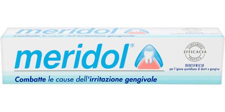 Dentifricio Meridol Contro Irritazione Gengivale