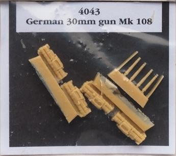GERMAN 30MM GUN MK108